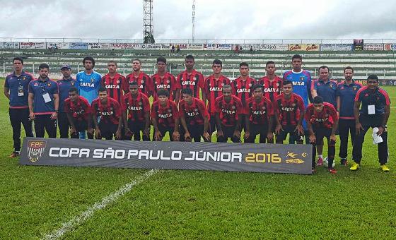 Time do Sport na Copa São Paulo de Futebol Júnior 2016. Foto: Sport/instagram