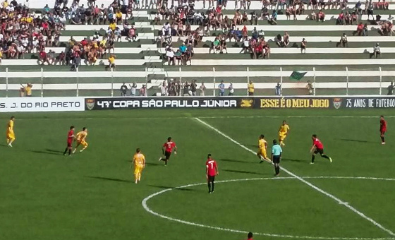 Sport na Copa São Paulo de Futebol Júnior de 2016. Foto: Mirassol/facebook (facebook.com/MiraFC)