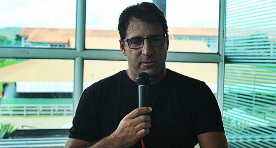 Marcelo Martelotte, técnico do Santa Cruz em 2016. Foto: Rafael Brasileiro/DP