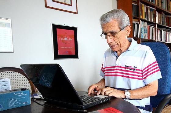 Carlos Celso Cordeiro, historiador e pesquisador. Foto: Paulo Paiva/DP