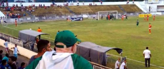 Pernambucano 2016, 1º turno: América 1x0 Serra Talhada. Foto: América (facebook.com/americafcpe)