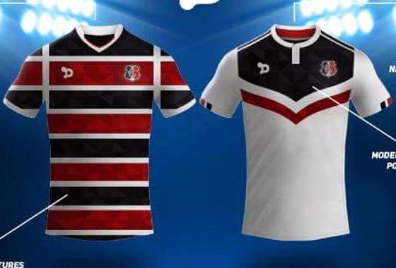 As projeções de uniformes do Santa Cruz na web 02fed41916204