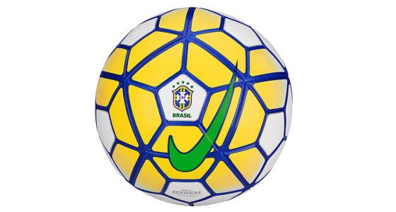 Bola oficial do Campeonato Brasileiro de 2016. Crédito: Nike/divulgação