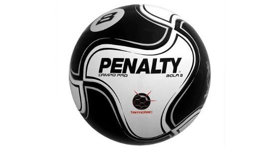 Bola 8, da Penalty, o modelo do Pernambucano 2016. Crédito: Penalty/divulgação