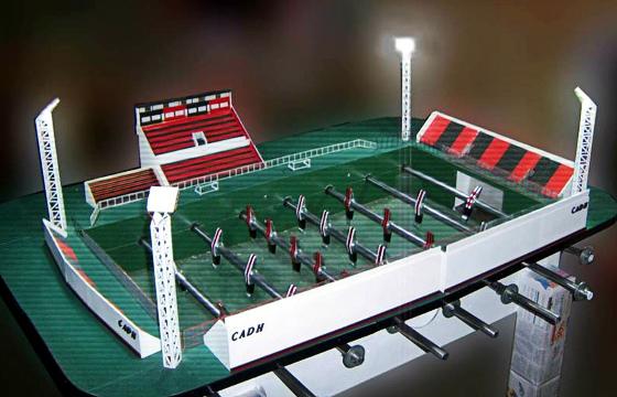 Totó do estádio do Douglas Haig. Crédito: Martín Setula/divulgação