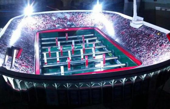 Totó do estádio do Huracán. Crédito: Martín Setula/divulgação