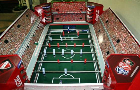 Totó do estádio do Independiente. Crédito: Martín Setula/divulgação