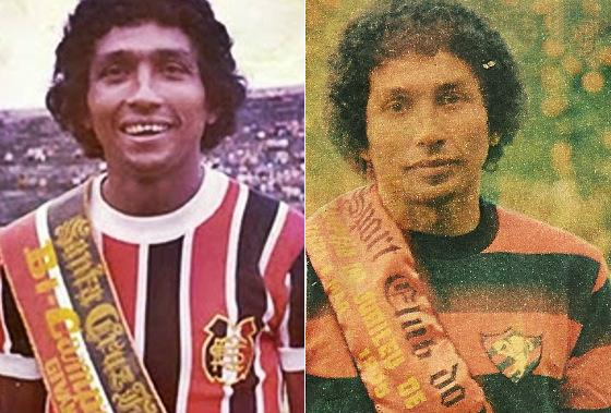 Givanildo Oliveira, campeão pernambucano pelo Santa Cruz em 1970 e pelo Sport em 1980