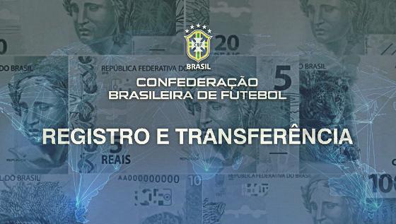 Registro e transferência de jogadores, segundo a CBF