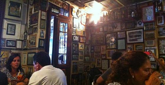 Bar São Cristóvão, em São Paulo. Foto: Cassio Zirpoli/DP