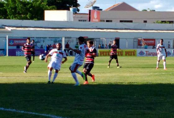 Pernambucano 2016, 7ª rodada: Salgueiro x Santa Cruz. Foto: Jamil Gomes/Santa Cruz (divulgação)