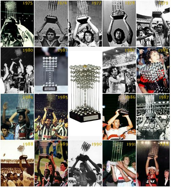 Todos os campeões da Taça das Bolinhas, de 1975 a 1992