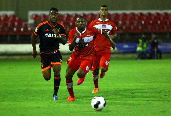 Copa do Nordeste 2016, quartas de final: CRB 2x1 Sport. Foto: Williams Aguiar/Sport Club do Recife