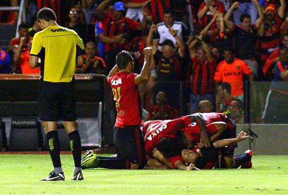 Copa do Nordeste 2016, quartas de final: Sport 1x0 CRB. Foto: Williams Aguiar/Sport