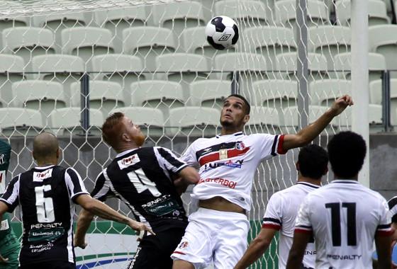 Copa do Nordeste 2016, quartas de final: Ceará 0x1 Santa Cruz. Foto: LC Moreira/Futura Press/Folhapress