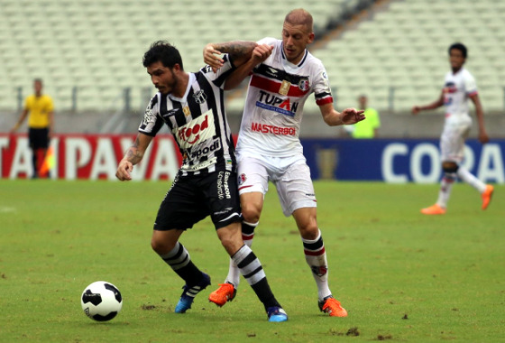 Copa do Nordeste 2016, quartas de final: Ceará 0x1 Santa Cruz. Foto: Christian Alekson/CearaSC.com