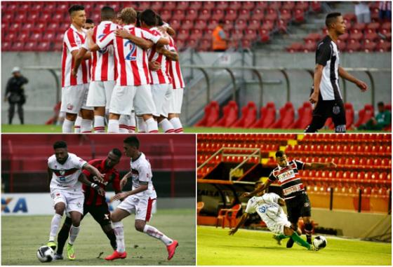 Pernambucano 2016, 9ª rodada: Náutico 3x0 Central, Sport 0x1 Salgueiro e América 0x0 Santa. Fotos: Rafael Martins (Arena) e Peu Ricardo/Esp. Dp (jogos na Ilha), ambos do DP