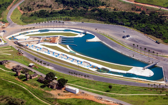 Estádio Olímpico de Canoagem Slalom. Foto: Gabriel Heusi/Brasil2016.gov.br