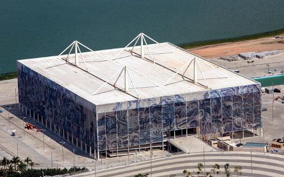 Estádio Olímpico de Esportes Aquáticos. Foto: Gabriel Heusi/Brasil2016.gov.br