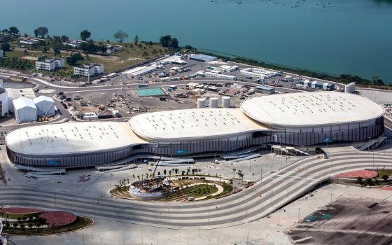Arena Carioca 3, 2 e 1. Foto: Gabriel Heusi/Brasil2016.gov.br