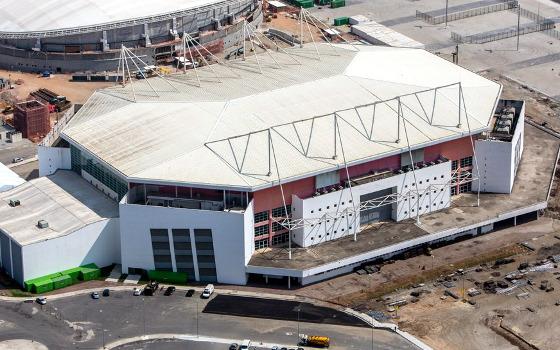 Arena Olímpica. Foto: Gabriel Heusi/Brasil2016.gov.br