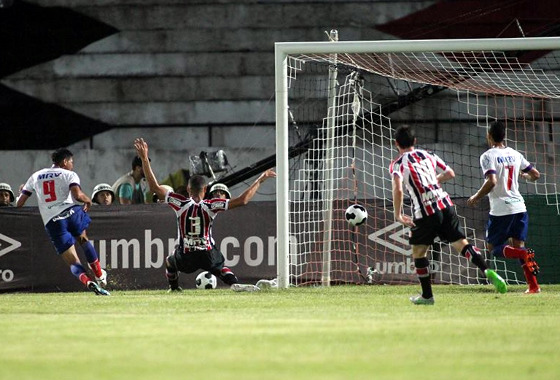 Nordestão 2016, semifinal: Santa Cruz 2x2 Bahia. Foto: Antônio Melcop/Santa Cruza