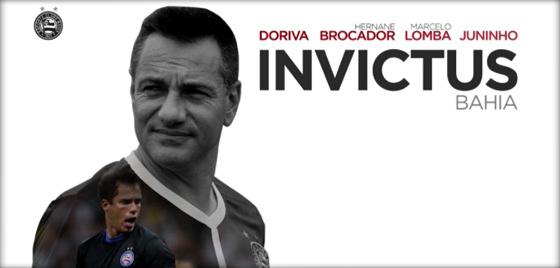 """Doriva como """"Invictus"""". Crédito: Esporte Interativo/reprodução"""