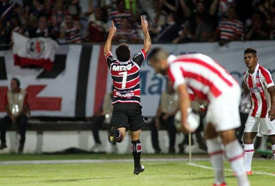Pernambucano 2016, semifinal: Santa Cruz 3x1 Náutico. Foto: Antônio Melcop/Santa Cruz