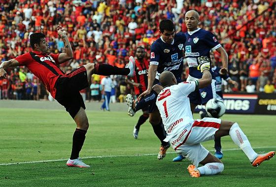 Pernambucano 2016, semifinal: Sport 1x0 Salgueiro. Foto: Paulo Paiva/DP