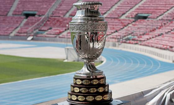Troféu da Copa América (2015). Foto: ca2015.com