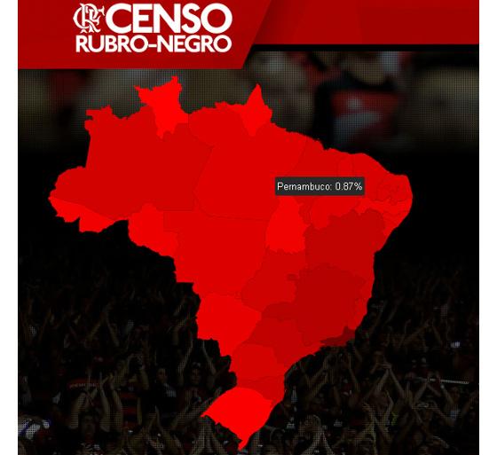 Censo Rubro-negro, do Flamengo, em 28/04/2016. Crédito: nrnoficial.com.br/reprodução