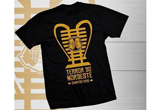 Camisa comemorativa do Santa Cruz para o título da Copa do Nordetse. Foto   Santa 949188955c980