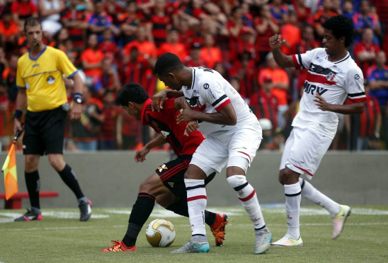 Pernambucano 2016, final: Sport 0x0 Santa Cruz. Foto: Ricardo Fernandes/DP