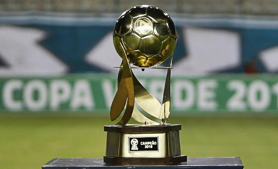 O troféu da Copa Verde 2016. Foto:  Rafael Ribeiro/CBF