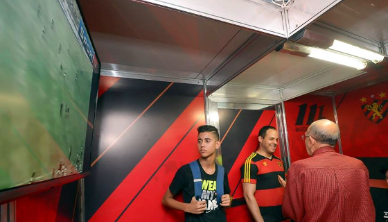 Exposição dos 111 anos do Sport, na Ilha do Retiro. Foto: Inês Campelo/Sport Club do Recife