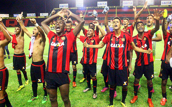 Time Sub 17 do Sport na Copa do Brasil da categoria em 2016. Foto: Williams Aguiar/Sport