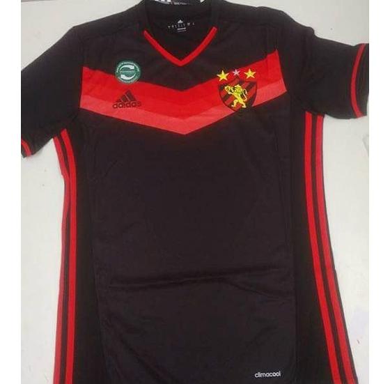 c040ecf5cc Camisa 2 do Sport para a temporada 2016 2017. Crédito  reprodução