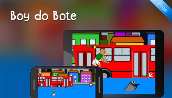"""Game """"Boy do Bote"""". Crédito: Google Play/reprodução"""