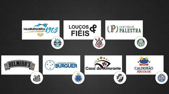 Redes gastronômicas dos clubes brasileiros via Sportfood