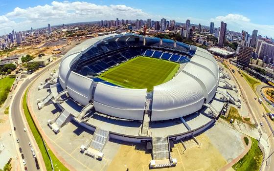 Arena das Dunas, em Natal. Foto: arenadunas.com.br