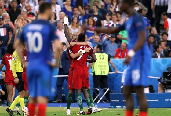 Eurocopa 2016, final: França x Portugal. Foto: Uefa (@uefaeuro)