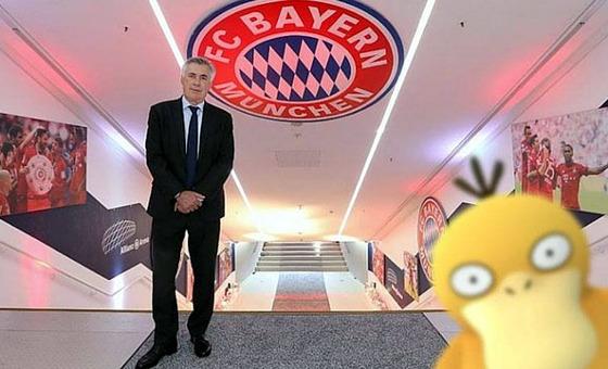 PokemonGO no Bayern de Munique. Crédito: Bayern/twitter
