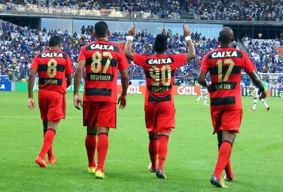 Série A 2016, 16ª rodada: Cruzeiro 1 x 2 Sport. Foto: Williams Aguiar/Sport Club do Recife