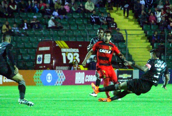 Série A 2016, 19ª rodada: Figueirense 1 x 1 Sport. Foto: Williams Aguiar/Sport Club do Recife