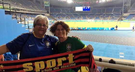 Torcedores do Sport na Olimpíada do Rio de Janeiro