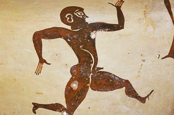 Lêonidas de Rodes, recordista nas Olimpíadas da Antiguidade. Foto: Museu Britânico