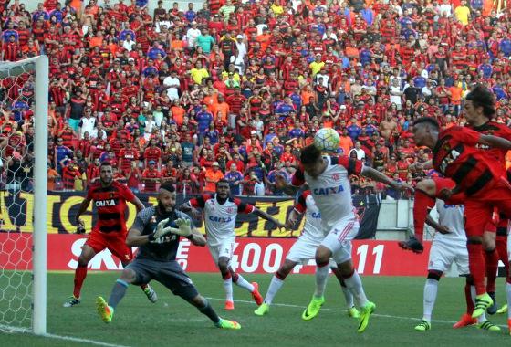 Série A 2016, 20ª rodada: Sport 1 x 0 Flamengo. Foto: Nando Chiapetta/DP