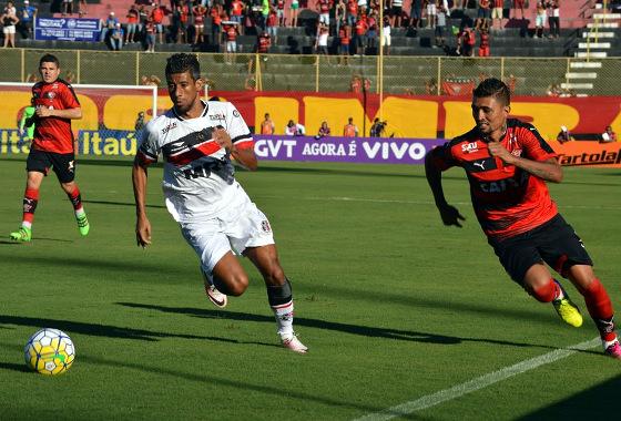 Série A 2016, 20ª rodada: Vitória 2 x 2 Santa Cruz. Foto: Francisco Galvão/EC Vitória