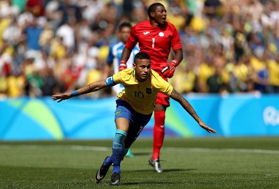 Olimpíadas 2016, semifinal: Brasil 6 x 0 Honduras. Foto: Ministério do Esporte/twitter (@minesporte)
