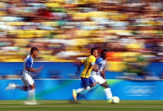 Olimpíadas 2016, semifinal: Brasil 6 x 0 Honduras. Foto: Rio 2016/twitter (@Rio2016)